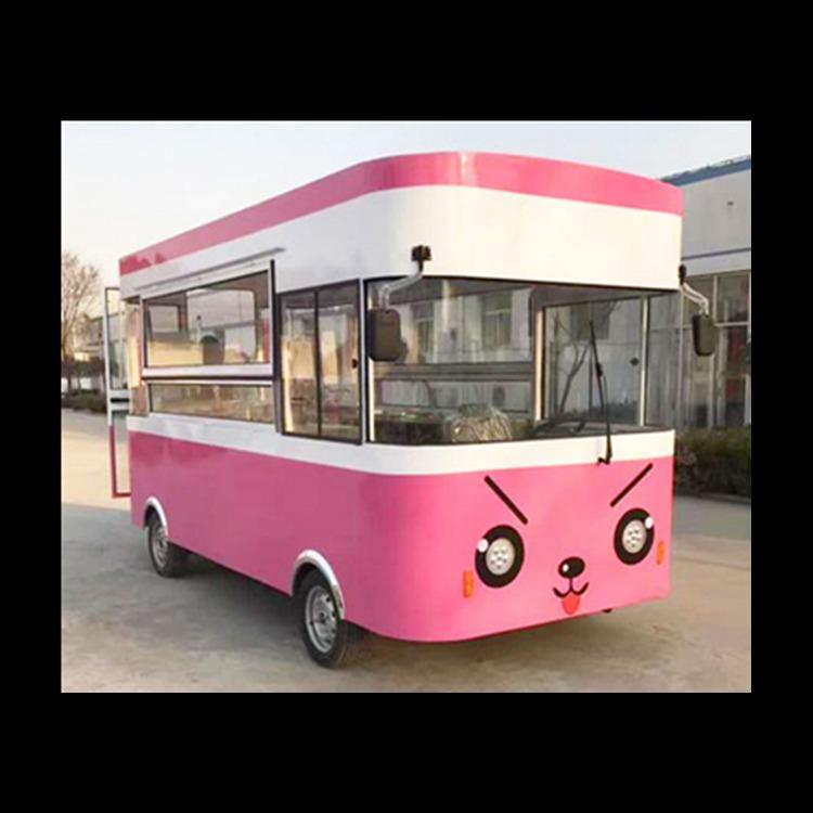 移动冰淇淋车厂家价格 同创移动店车厂家销售