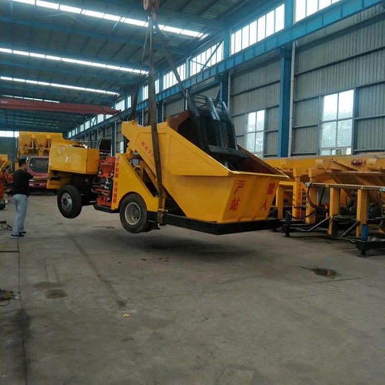 浙江金华 pz-7混凝土干式喷浆机 自动上料混凝土喷浆车