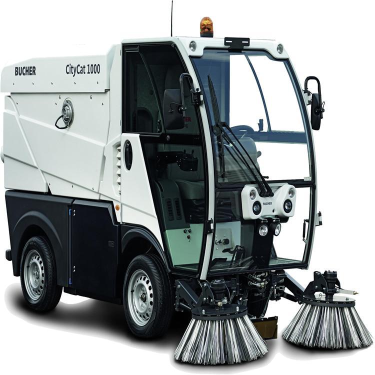 专业供应进口扫地机 柴油驾驶式扫地机CityCat 1000 广东洗扫车厂家 市政环卫道路清扫设备