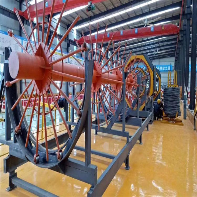 通桥供应 管桩滚焊机 钻孔桩钢筋笼自动滚焊机