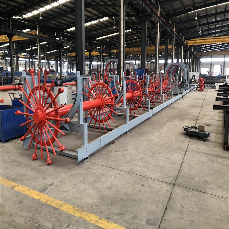 通桥厂家出售 全自动滚笼焊机 钢筋笼滚焊机生产线