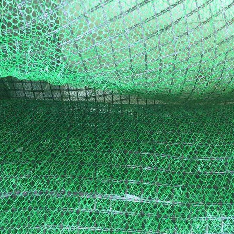 加筋三维网垫 加筋三维植被网垫 麦克垫高强度防冲刷适应性强