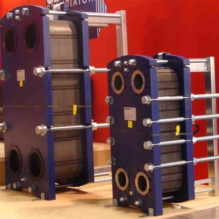 山东涵宇厂家专业定制生活热水 采暖板式换热器 可拆式板式换热器