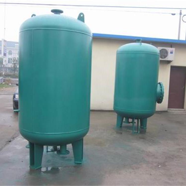 厂家定制加工容积式换热器 不锈钢304板材容积式换热器 山东涵宇环保制造