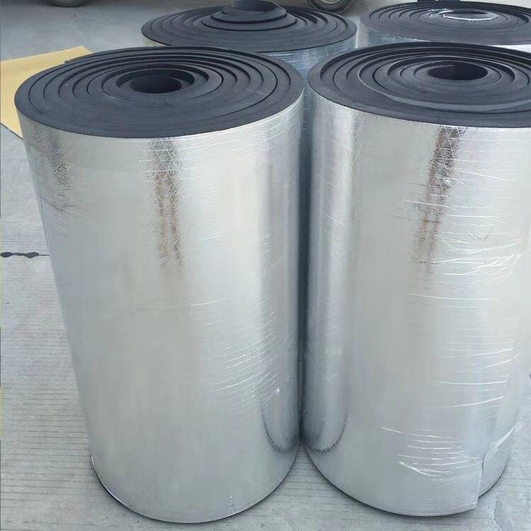 睿斯供应 25mm橡塑板 管道保温橡塑板厂家 施工方便