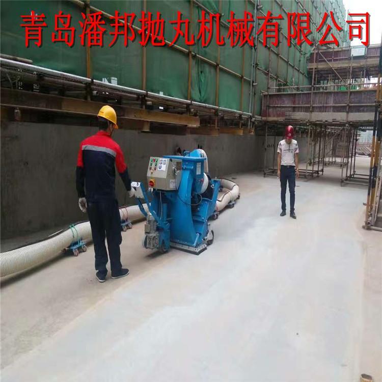 青岛潘邦隧道抛丸机清理钢板-PB2-20DT550mm