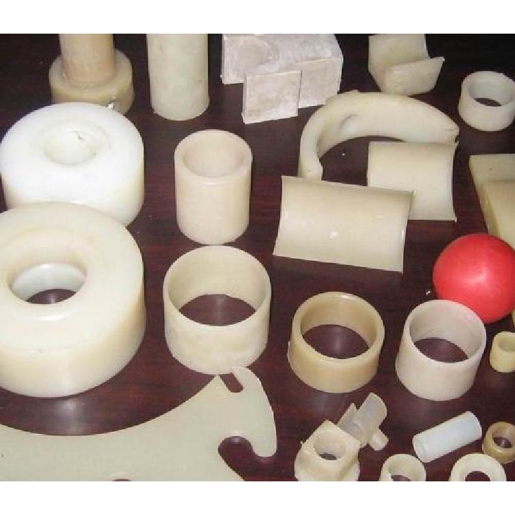 塑料制品 耐磨尼龙件 机械尼龙套 衡水景县睿哲厂家直销