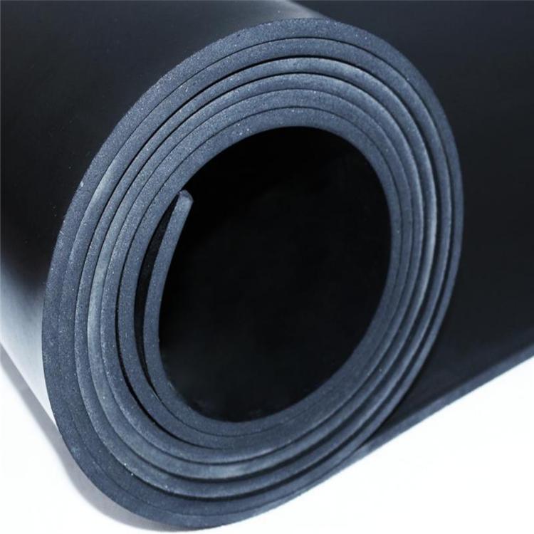 冀电品牌厂家直销黑色绝缘橡胶板6mm厚国标绝缘橡胶板