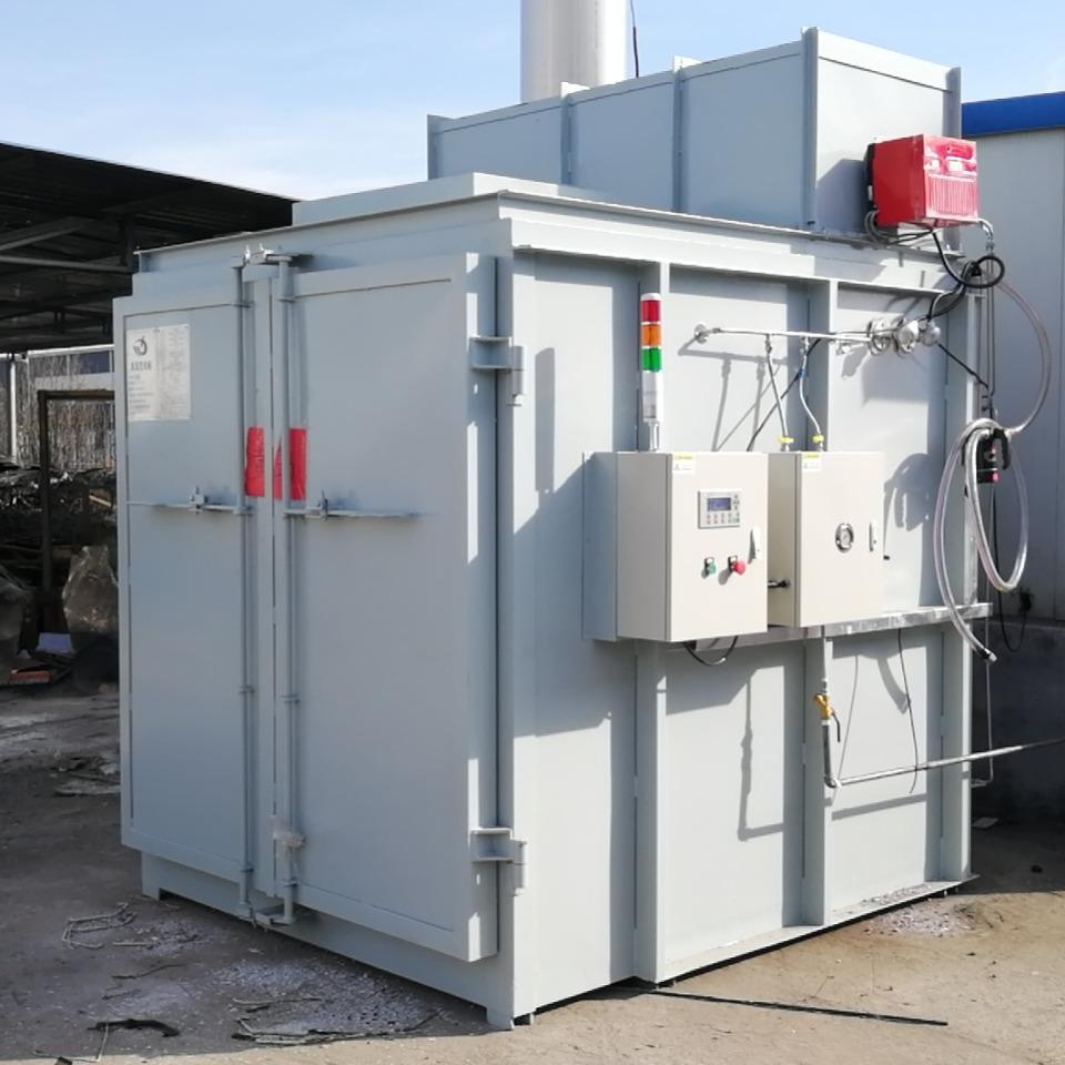 菲亚尼热洁炉厂家 剥漆炉 -碳化炉-挂具退塑炉-挂具脱漆炉