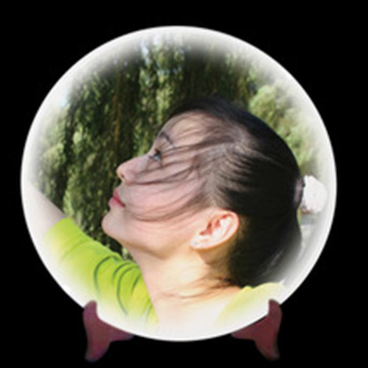 陶瓷影像盘 陶瓷盘定制