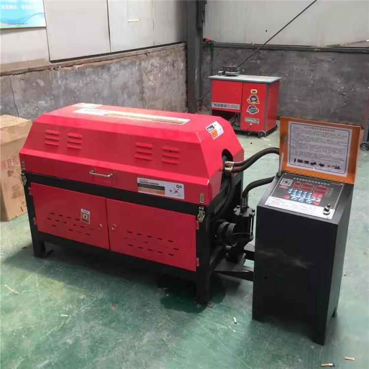 华睦大型4-10钢筋调直切断机 液压数控全自动调直机