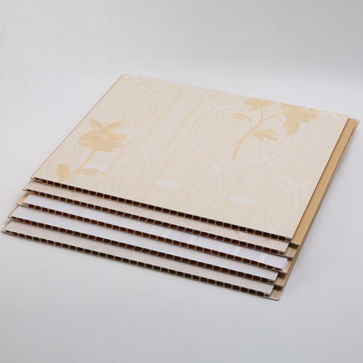厂家批发 石塑集成墙板 石塑护墙板 欢迎下单 全国直供