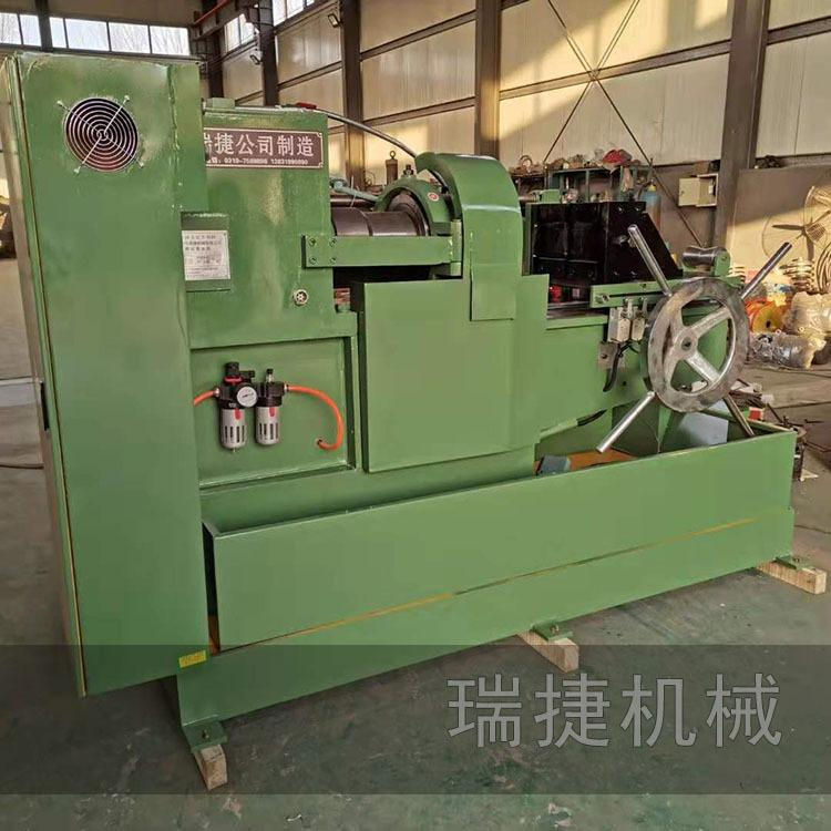 电动套丝机 圆钢螺栓套丝机 瑞捷公司制造