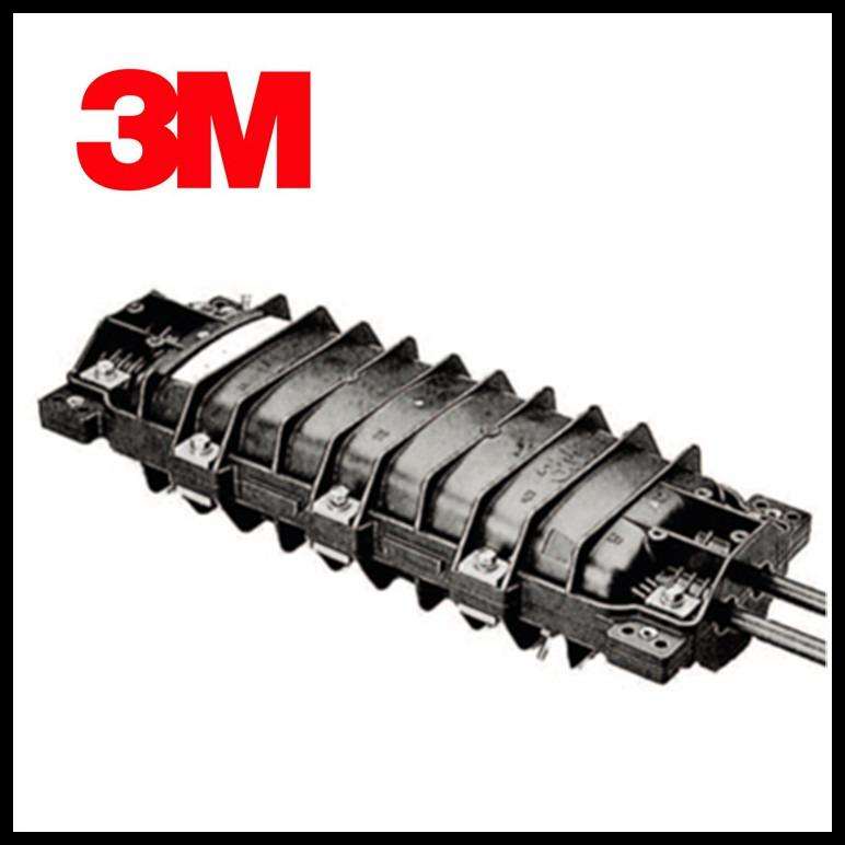 3M 2178-C 光缆接头盒 卧式 二进二出 管道 架空 直埋 接续盒