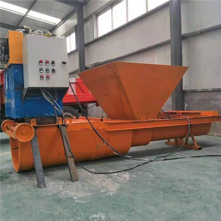 修水泥渠道用滑膜成型机U型混凝土渠道机 修水渠施工用衬砌成型机