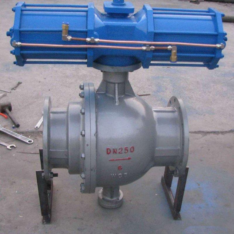 Q647MF气-动卸灰球阀