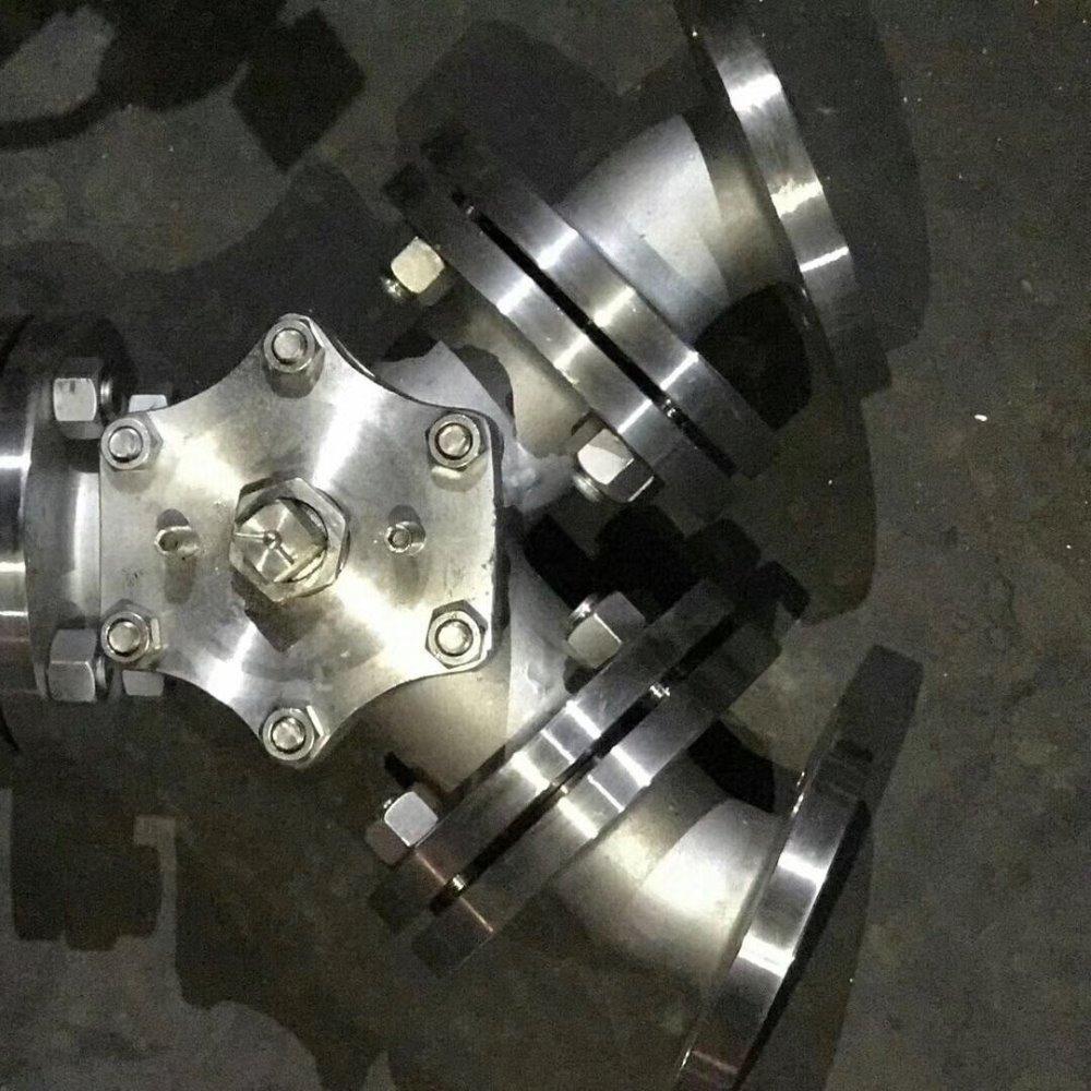 Q642F/H气-动Y型三通球阀