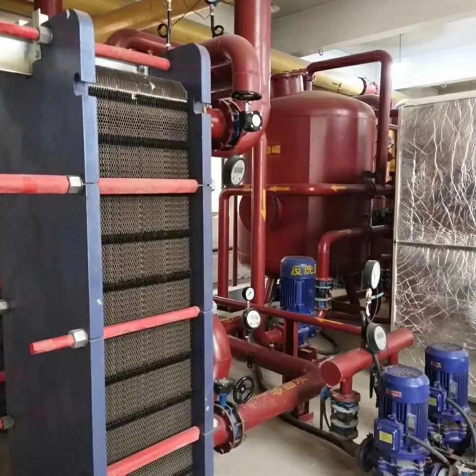 齐齐哈尔板式换热机组 全自动采暖换热机组