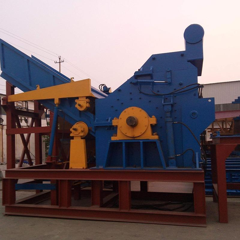 太原 大型彩钢瓦金属破碎机 废铝金属废铁破碎机