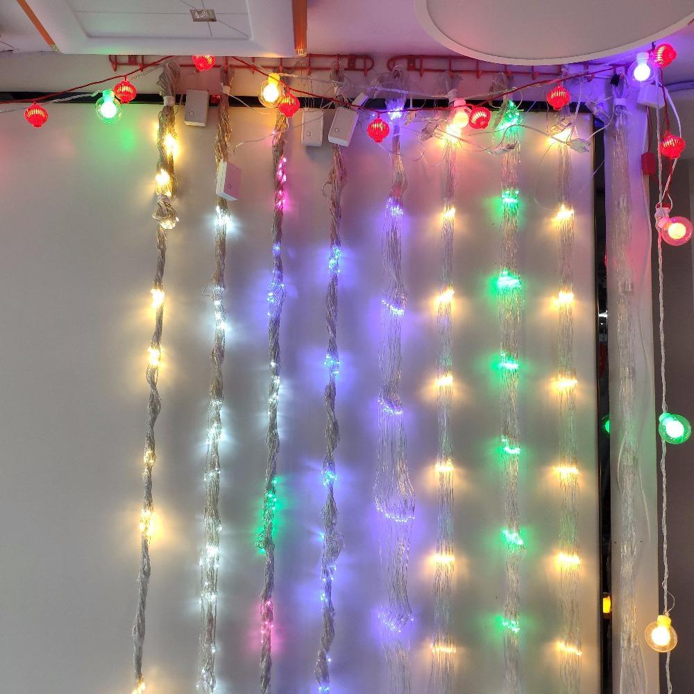 盖香云led公母插灯串彩灯元旦春节装饰灯