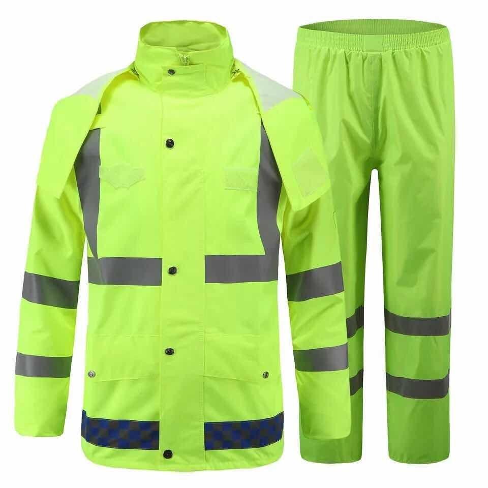 反光环保劳保环卫马甲套装消防工地安全服反光马甲