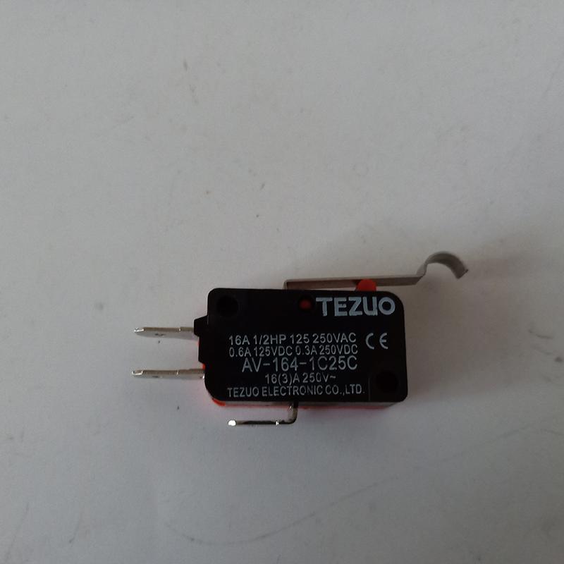 特佐AV-164-1C25C微动开关 TEZUO行程开关枢轴R型手柄型