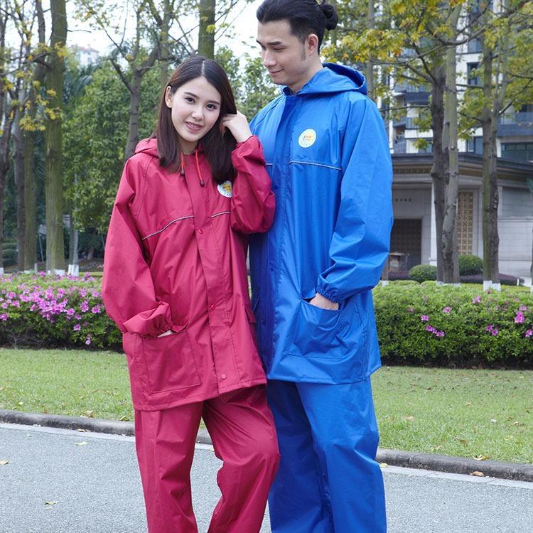 时尚环保长款风PVC塑料雨衣雨披户外徒步登山雨衣雨披