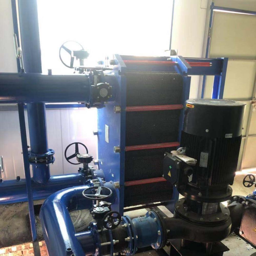 哈尔滨板式换热机组 全自动采暖换热机组