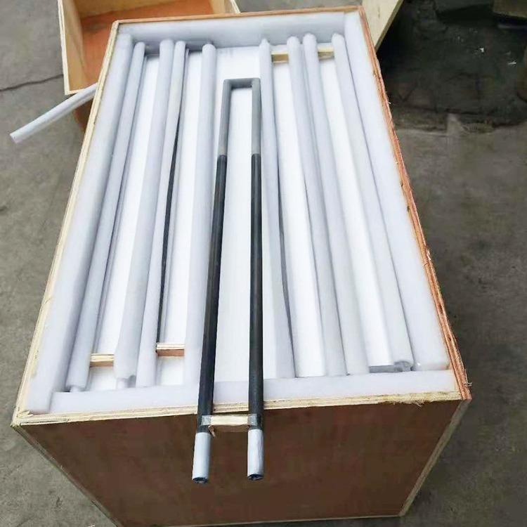 郑州铭鑫供应U型硅碳棒 8-54mm高温碳化硅加热管 高温电阻炉马弗炉可用