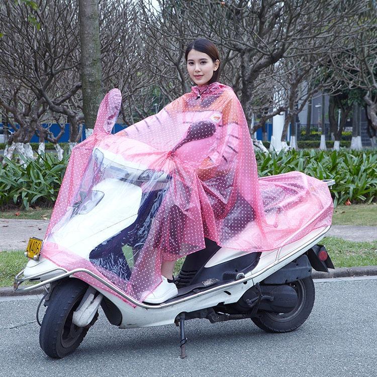 顺前外贸出口销售电动车摩托车单人雨衣雨披骑行pvc雨衣雨披