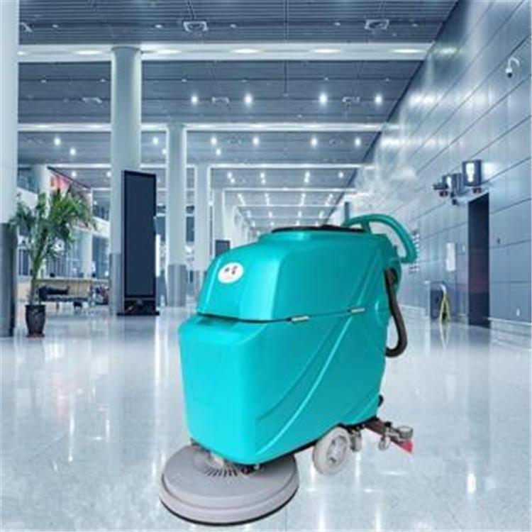 珠海手推式洗地机 中山BT-520电动拖地机 智能清洗机 江门环卫洗地车