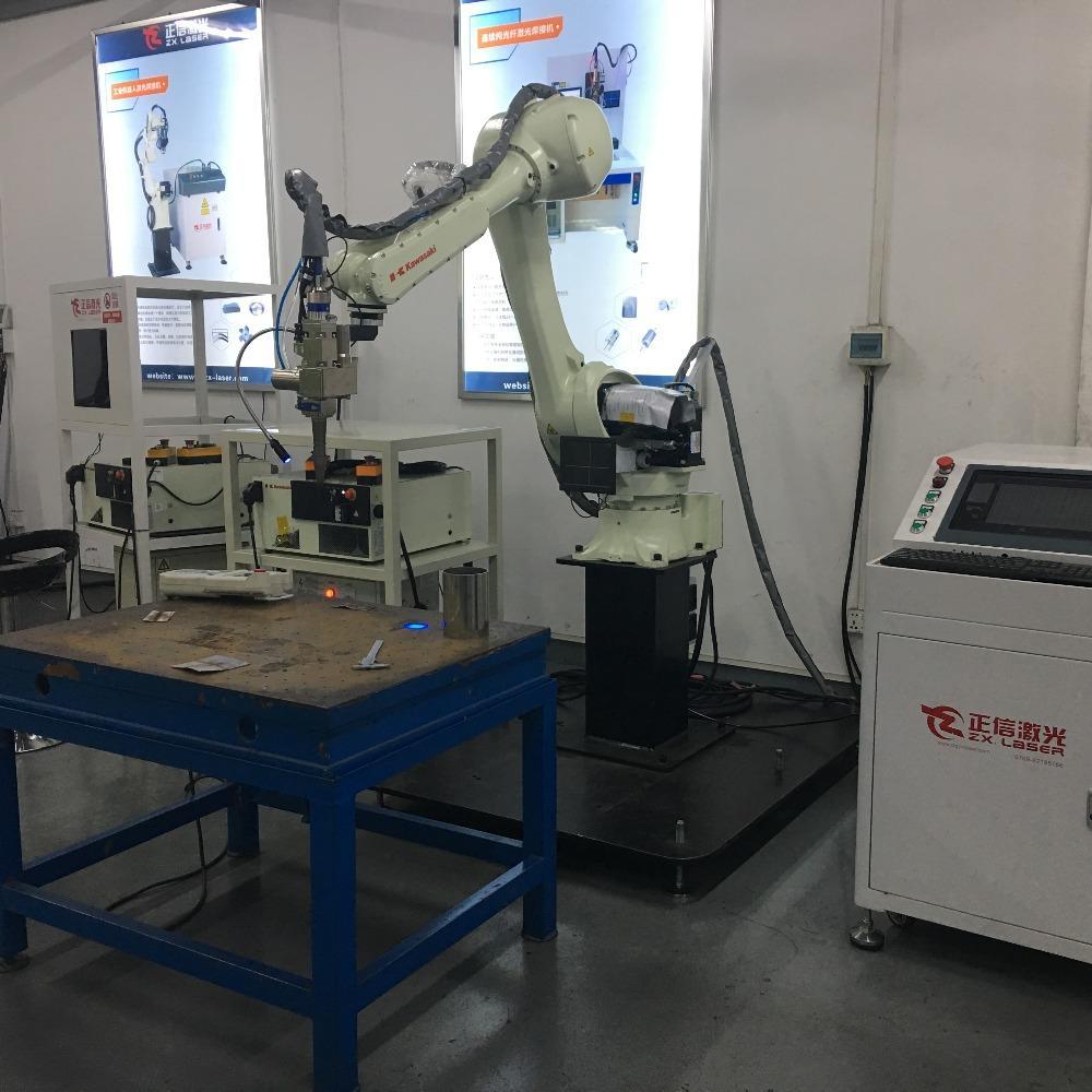 广东定制压缩机机器人激光焊接机设备供应厂商正信激光