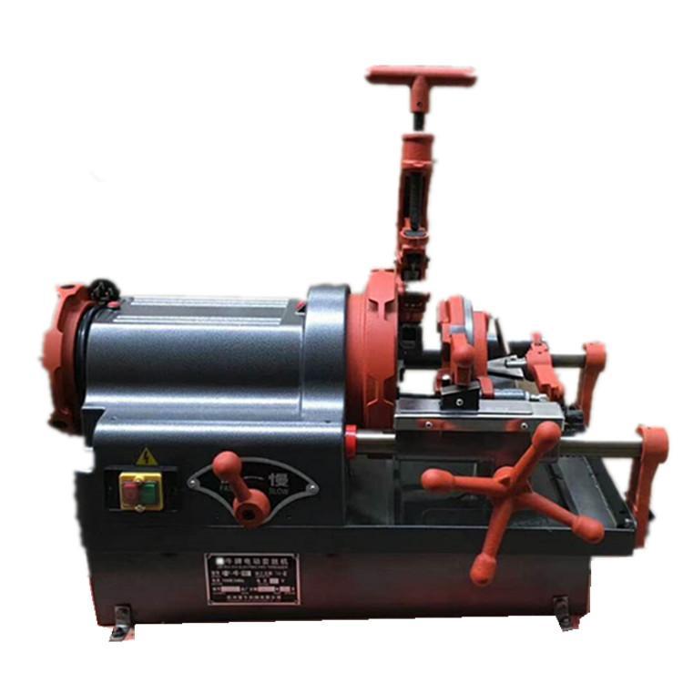批发管螺纹套丝机水管绞丝机 电动套丝切管机厂家