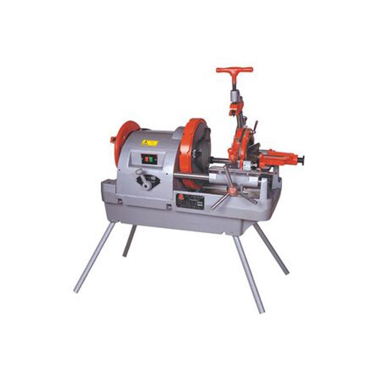 路邦机械电动套丝切管两用机2寸3寸4寸管子套丝切管机厂家销售