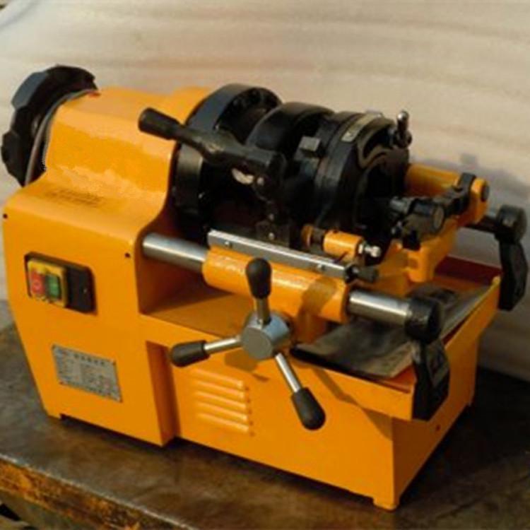 供应电动套丝切管机 手动液压弯轨机 水管开牙机生产厂家