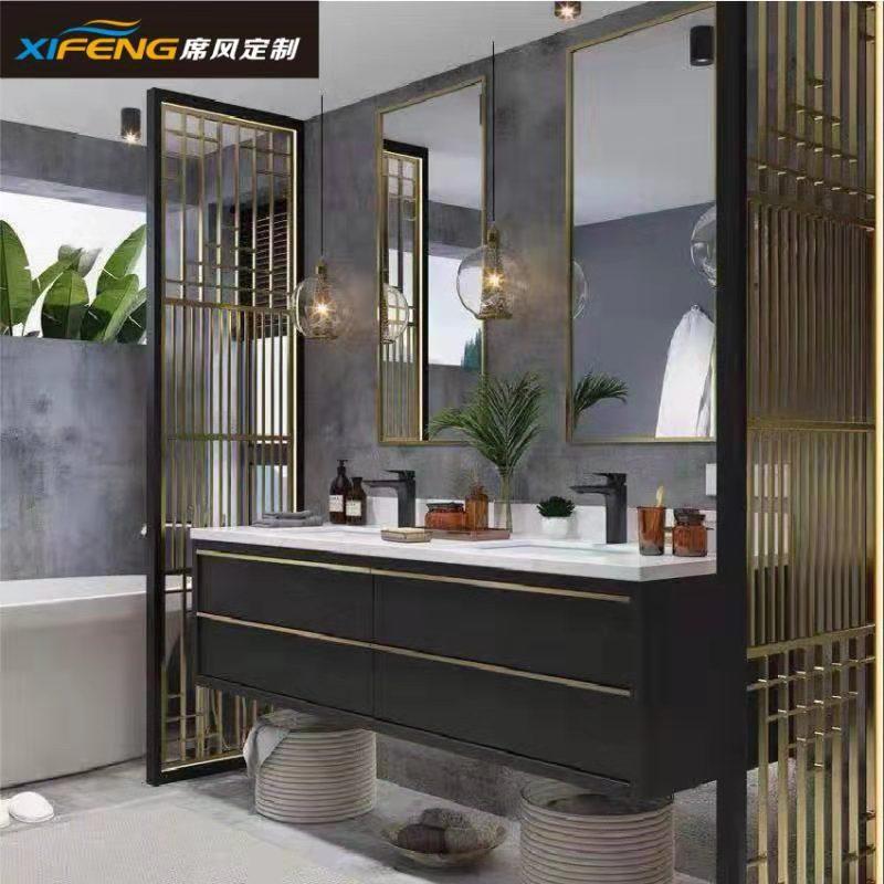 席风卫浴厂家直销 成都浴室柜 批发 工程卫浴定制