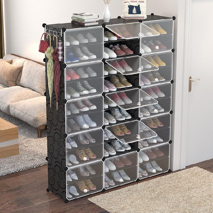 简易鞋柜塑料鞋架厂家直售