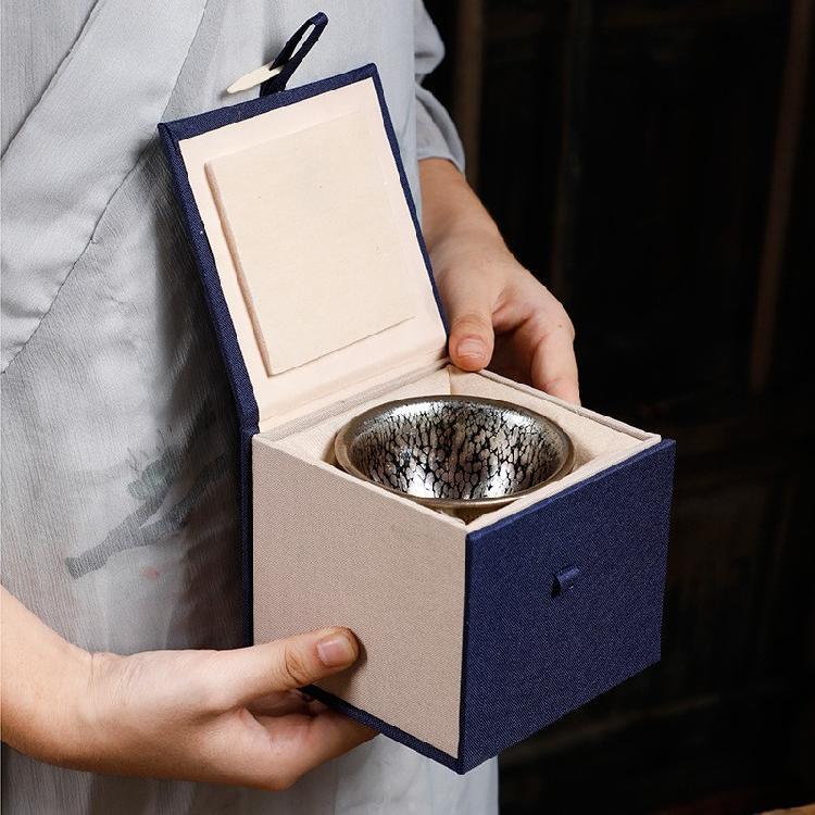非物质文化遗建盏茶杯厂家直售