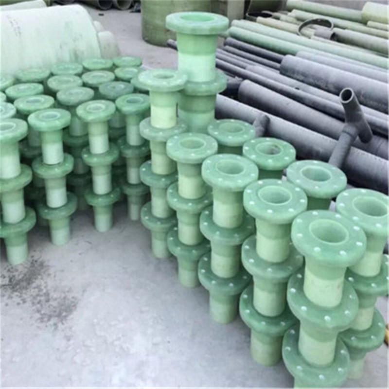 河北炫岩供应玻璃钢法兰 玻璃钢管件带颈法兰弯头防腐耐磨耐酸碱