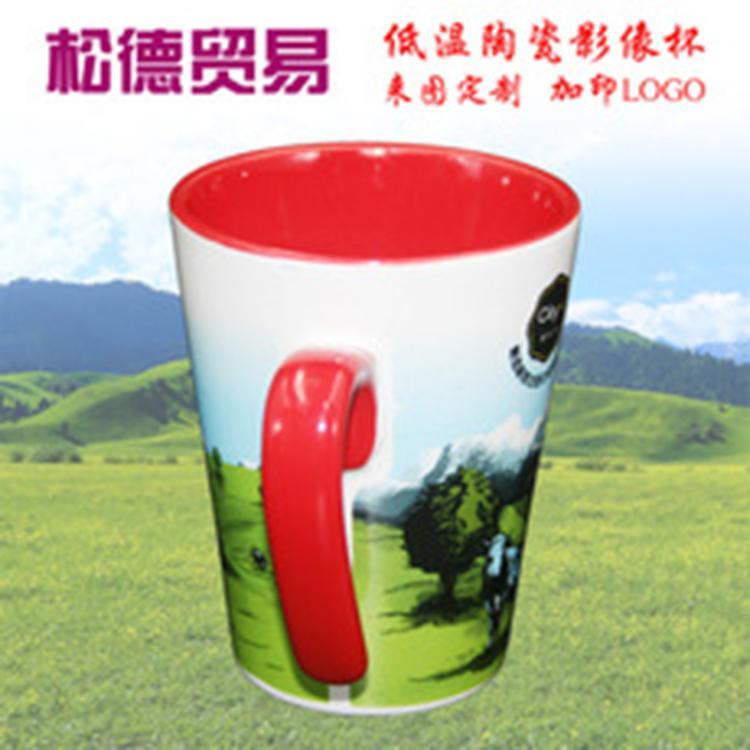 山东松德 供应色釉陶瓷杯 马克杯