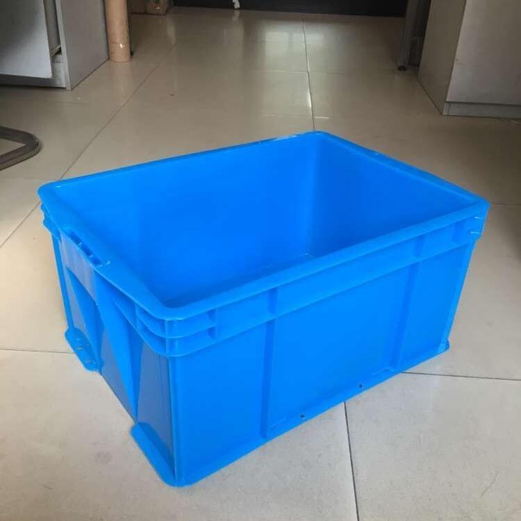物豪 575-350B款塑料箱 可折叠塑料周转箱 方盘塑料周转箱厂家供应
