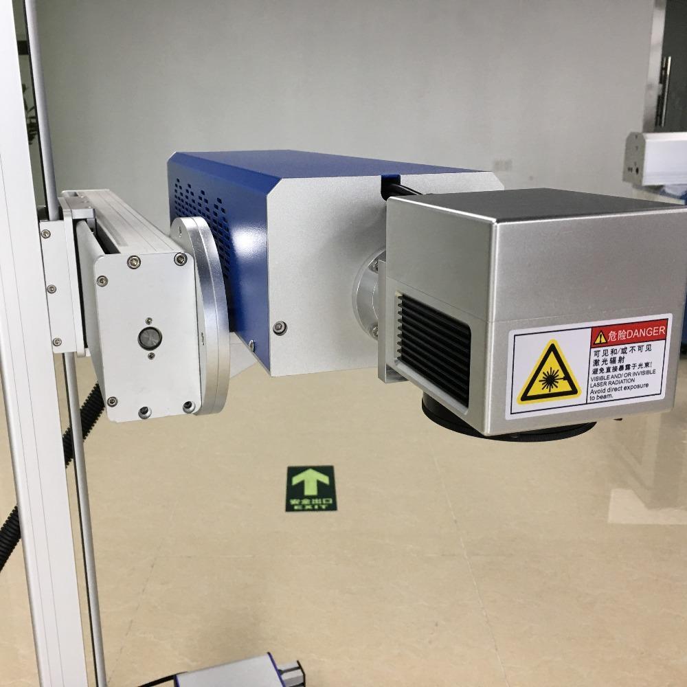 包装袋生产日期 二维码 LOGO激光打码 效率高 效果好 无耗材激光打标机