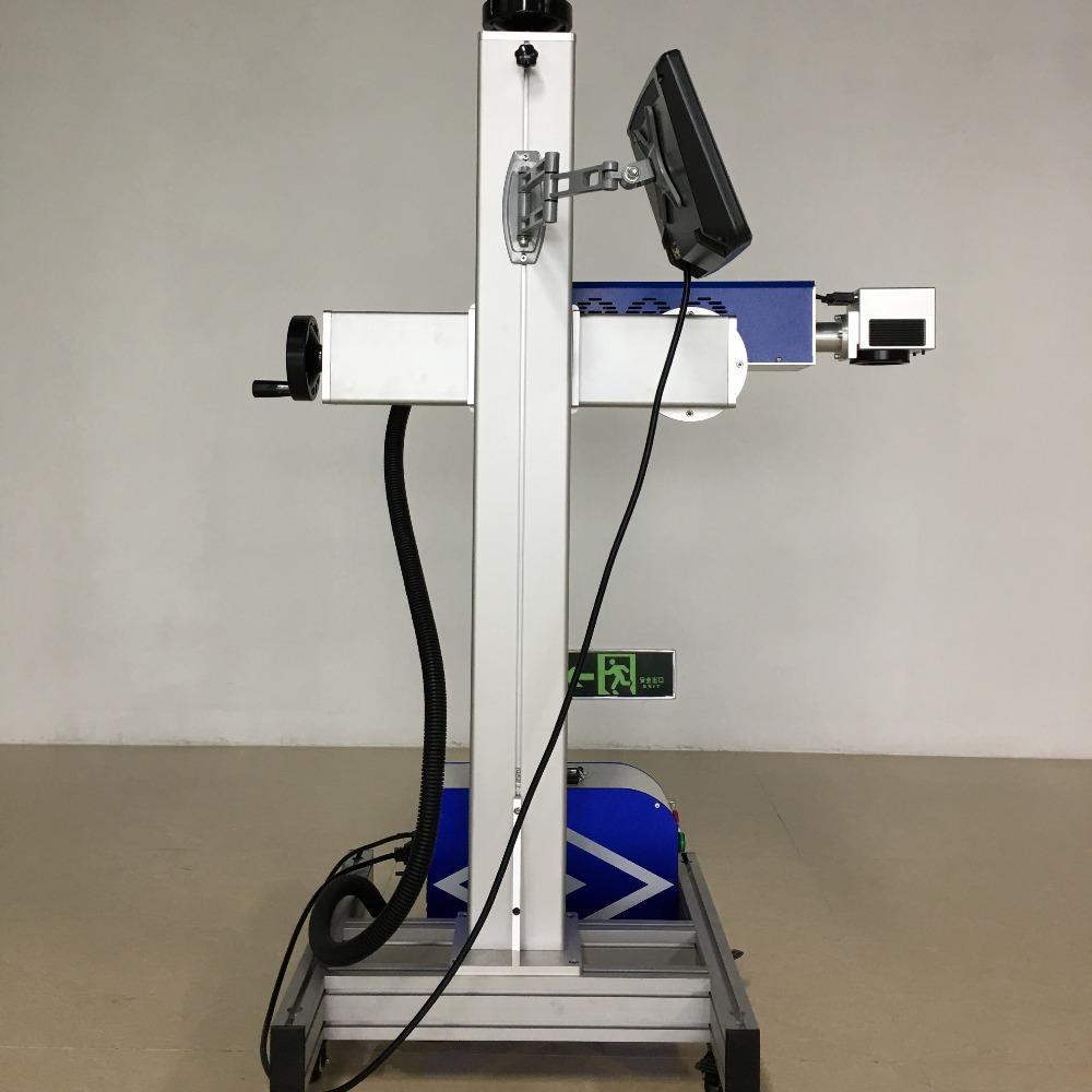 广东自动打标机 飞行激光打标机厂家 用于外包装盒生产日期打标 高速 价格实惠 服务