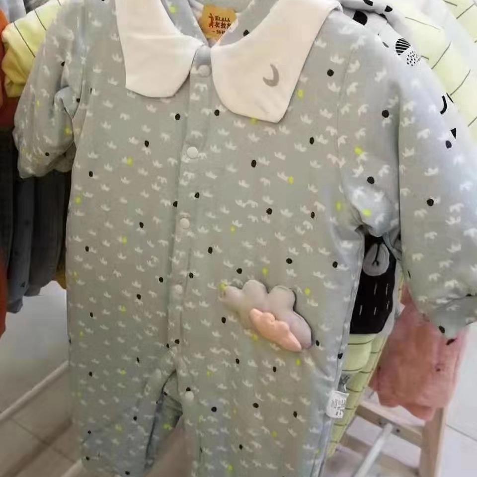 儿童爬服批发 衣拉拉瑁恩瑁爱 品牌童装折扣尾货 有爱内衣工厂直销一件不留