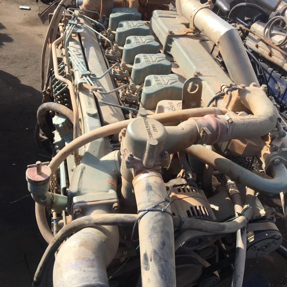 重汽豪沃搅拌 重汽290 336 375搅拌发动机总成