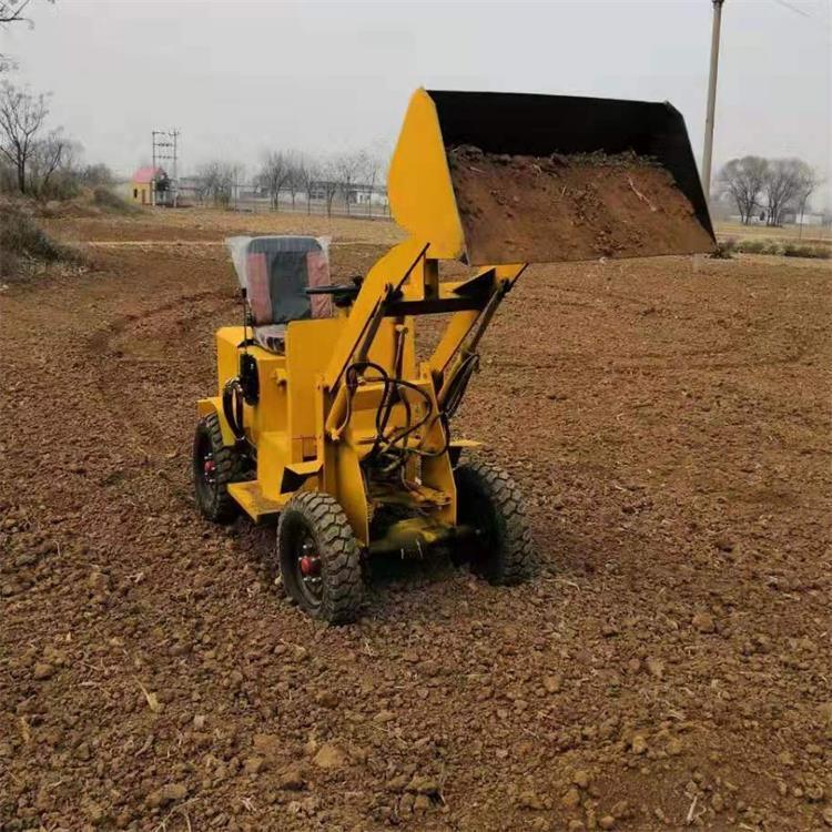 小型电动装载机 农用牧场沙场 环保装载机 建筑机械小型电铲车