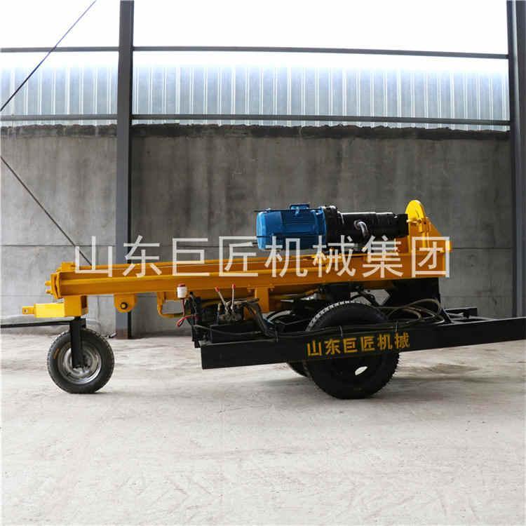直供贵州KQZ-200D气电联动潜孔钻机200米风动钻机