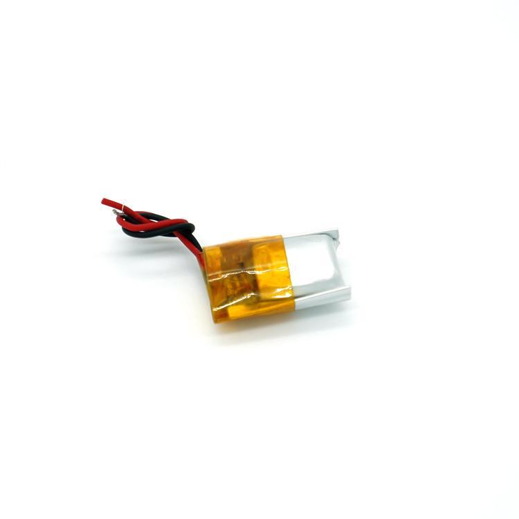 广东厂家供应3.7v电动玩具电池90mah锂电池定制