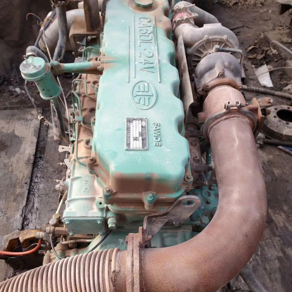 锡柴350发动机 解放J6一汽锡柴奥威31 330 350电喷直喷柴油发动机总成价格