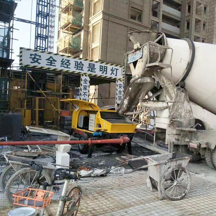 100米小型细石混凝土输送泵 细石混凝土输送泵厂家全国联保 细石混凝土输送泵厂家